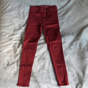 American Eagle High Rise Jegging 4R
